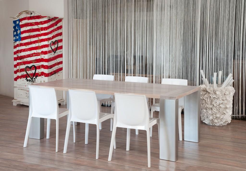 Tavoli su misura castagnetti c for Tavoli moderni in legno